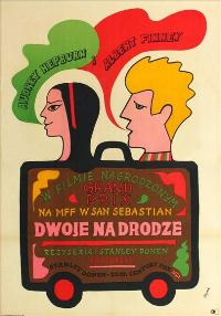 Two for the Road - 11 x 17 Movie Poster - Polish Style A