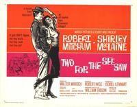 Two for the Seesaw - 22 x 28 Movie Poster - Half Sheet Style A