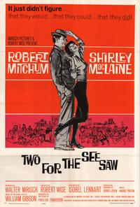 Two for the Seesaw - 27 x 40 Movie Poster - Style A