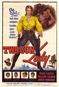 Two-Gun Lady - 27 x 40 Movie Poster - Style A