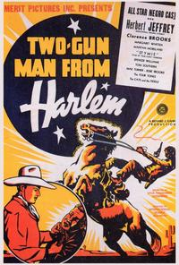 Two Gun Man from Harlem - 27 x 40 Movie Poster - Style A