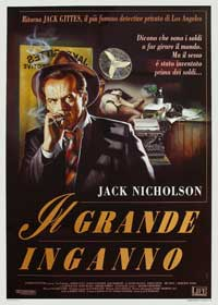 The Two Jakes - 27 x 40 Movie Poster - Italian Style B