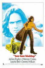 Two Lane Blacktop - 11 x 17 Movie Poster - Style C