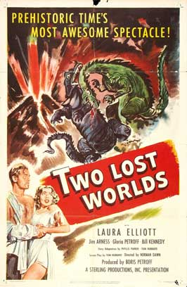 Two Lost Worlds - 11 x 17 Movie Poster - Style A