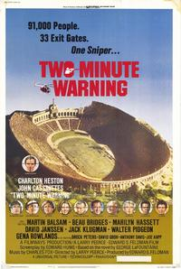 Two Minute Warning - 27 x 40 Movie Poster - Style A