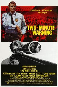 Two Minute Warning - 27 x 40 Movie Poster - Style B