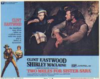 Two Mules for Sister Sarah - 11 x 14 Movie Poster - Style G