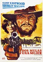 Two Mules for Sister Sarah - 11 x 17 Movie Poster - Spanish Style A