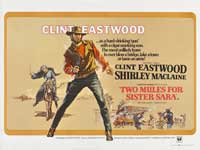 Two Mules for Sister Sarah - 30 x 40 Movie Poster UK - Style A