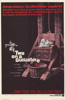 Two On a Guillotine - 11 x 17 Movie Poster - Style A
