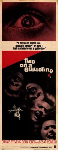 Two On a Guillotine - 14 x 36 Movie Poster - Insert Style A