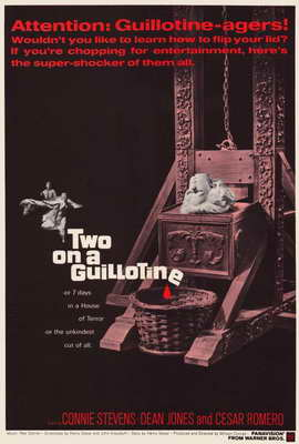 Two On a Guillotine - 27 x 40 Movie Poster - Style A