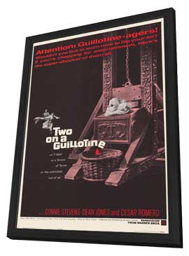 Two On a Guillotine - 11 x 17 Movie Poster - Style A - in Deluxe Wood Frame
