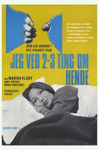 Two or Three Things I Know about Her - 11 x 17 Movie Poster - German Style A