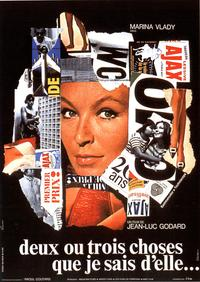Two or Three Things I Know about Her - 11 x 17 Movie Poster - French Style A
