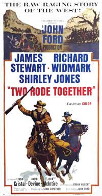 Two Rode Together - 20 x 40 Movie Poster - Style A