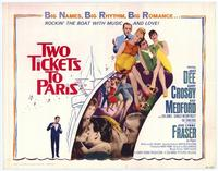Two Tickets to Paris - 11 x 14 Movie Poster - Style A