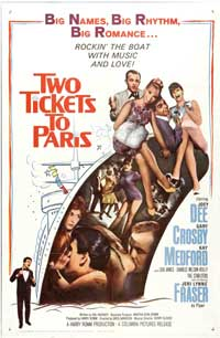 Two Tickets to Paris - 27 x 40 Movie Poster - Style A