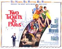 Two Tickets to Paris - 27 x 40 Movie Poster - Style B