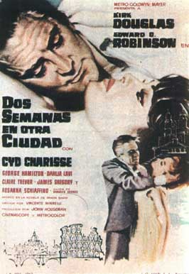 Two Weeks in Another Town - 11 x 17 Movie Poster - Spanish Style A