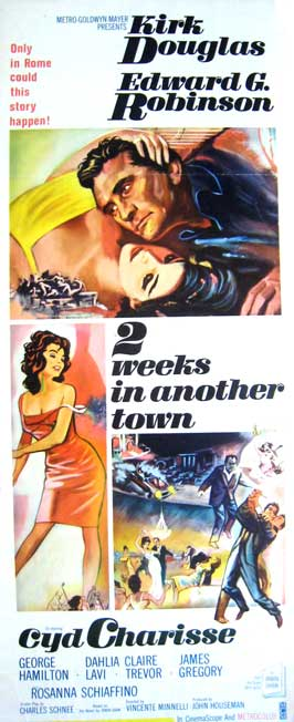 Two Weeks in Another Town - 14 x 36 Movie Poster - Insert Style A