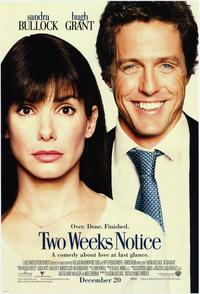 Two Weeks Notice - 11 x 17 Movie Poster - Style B