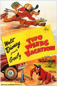 Two Weeks Vacation - 11 x 17 Movie Poster - Style A