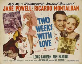 Two Weeks with Love - 11 x 14 Movie Poster - Style A