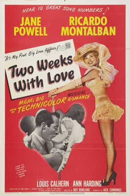 Two Weeks with Love - 27 x 40 Movie Poster - Style A