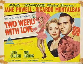 Two Weeks with Love - 11 x 14 Movie Poster - Style C