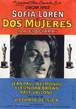 Two Women - 11 x 17 Movie Poster - Spanish Style A