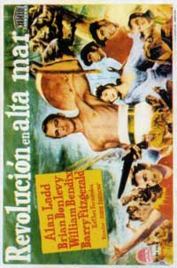 Two Years Before the Mast - 11 x 17 Movie Poster - Spanish Style A