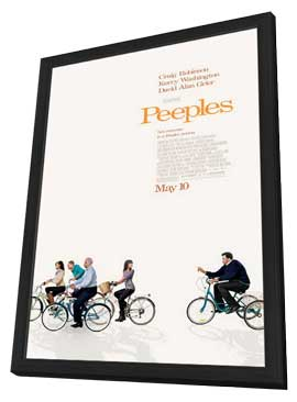 Tyler Perry Presents Peeples - 27 x 40 Movie Poster - Style A - in Deluxe Wood Frame