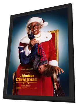 Tyler Perry's A Madea Christmas - 11 x 17 Movie Poster - Style A - in Deluxe Wood Frame