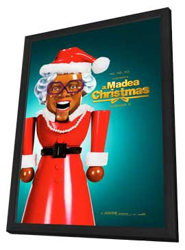Tyler Perry's A Madea Christmas - 27 x 40 Movie Poster - Style B - in Deluxe Wood Frame