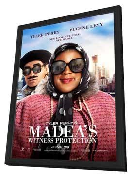 Tyler Perry's Madea's Witness Protection - 27 x 40 Movie Poster - Style A - in Deluxe Wood Frame