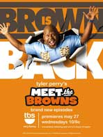 Tyler Perry's Meet The Browns - 11 x 17 TV Poster - Style A