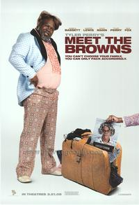 Tyler Perry's Meet The Browns - 43 x 62 Movie Poster - Bus Shelter Style B