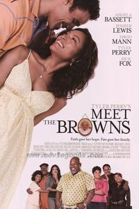 Tyler Perry's Meet The Browns - 43 x 62 Movie Poster - Bus Shelter Style C