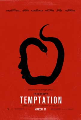 Tyler Perry's Temptation - DS 1 Sheet Movie Poster - Style B