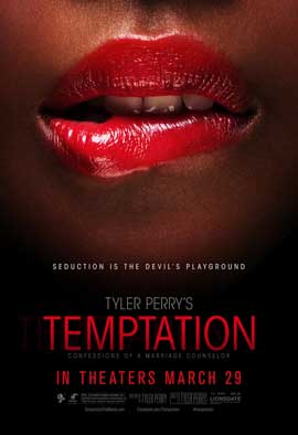 Tyler Perry's Temptation - 27 x 40 Movie Poster - Style C