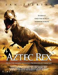 Aztec Rex - 11 x 17 Movie Poster - Style A