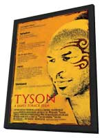 Tyson - 11 x 17 Movie Poster - Style A - in Deluxe Wood Frame