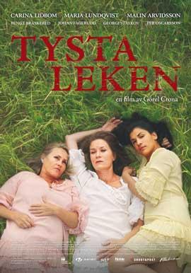 Tysta leken - 43 x 62 Movie Poster - Swedish Style A