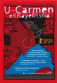 U-Carmen e-Khayelitsha - 43 x 62 Movie Poster - Bus Shelter Style A