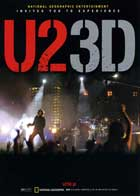 U2 3D - 27 x 40 Movie Poster - Japanese Style A
