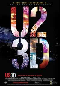 U2 3D - 11 x 17 Movie Poster - Swiss Style A