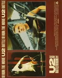 U2: Rattle and Hum - 11 x 14 Movie Poster - Style D