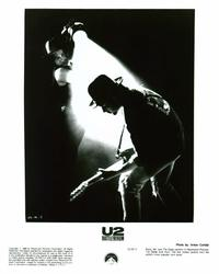 U2: Rattle and Hum - 8 x 10 B&W Photo #1