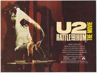 U2: Rattle and Hum - 11 x 17 Movie Poster - Style G